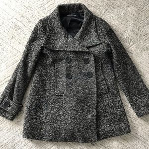 Marc New York // Oversized Wool Peacot Size 6